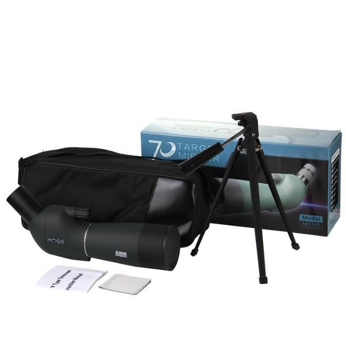 Монокуляр профессиональный 20-60Х60+подарок адаптер для сотового тел.