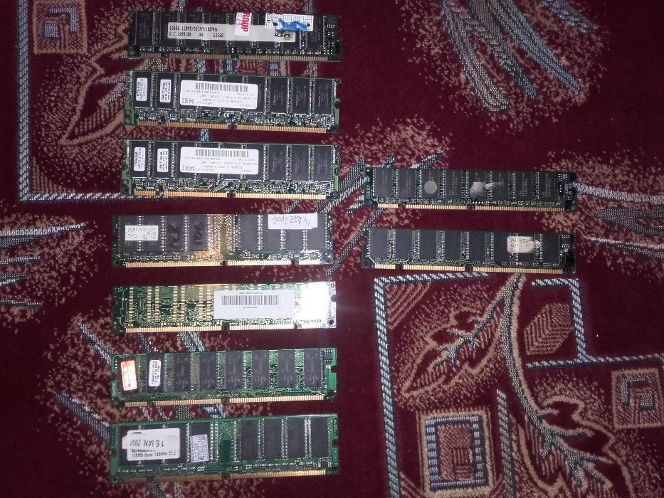 Vand ram SDR mai multe marimi de 128 mb si 64 mb pret 20 lei buc.