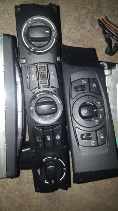 Panou clima e60,bloc lumini e60,controller i-drive