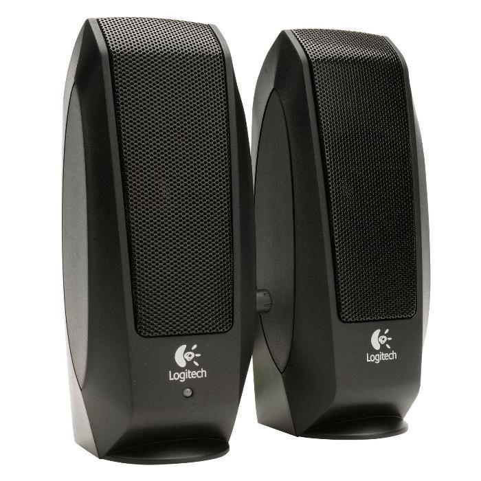 Speakers Тонколони за компютър-лаптоп 2.0 Logitech S120 (5W, 100Hz-20