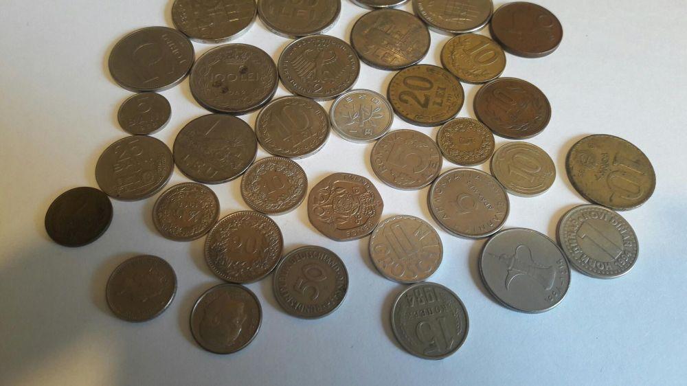 Colectie menede si bancnote vechi Buciumeni - imagine 2