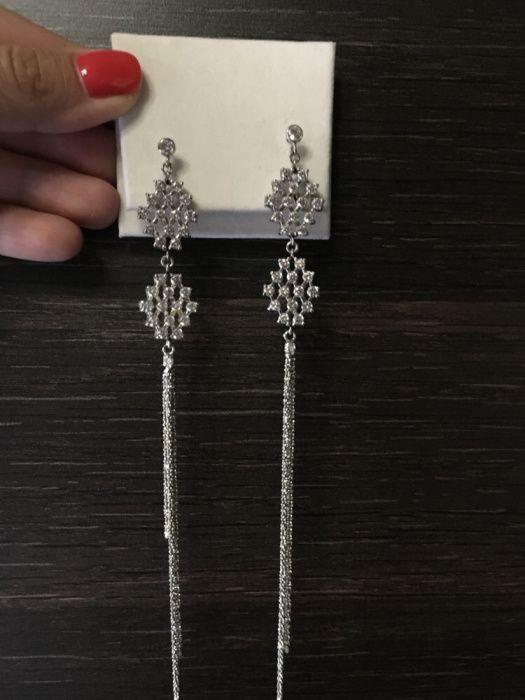 Дамски сребърни обеци OXETTE