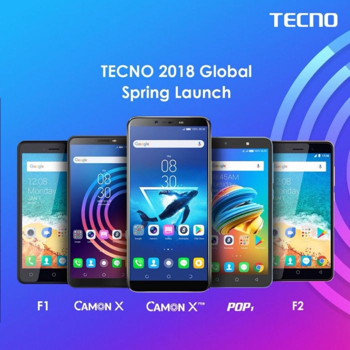 Tecno mobile , disponível na caixa selados