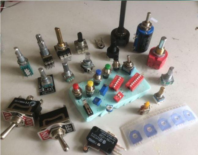 Switchs, Encoder & Potenciometros PCB / SMD