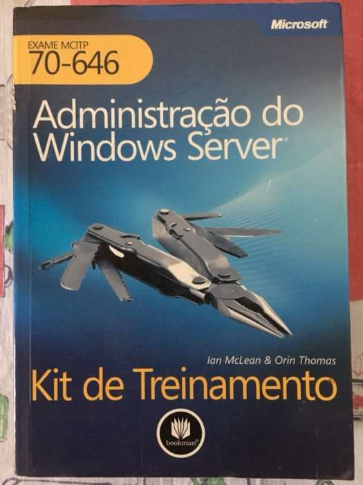 Administração do Windows Server 2008 Exame 70-646