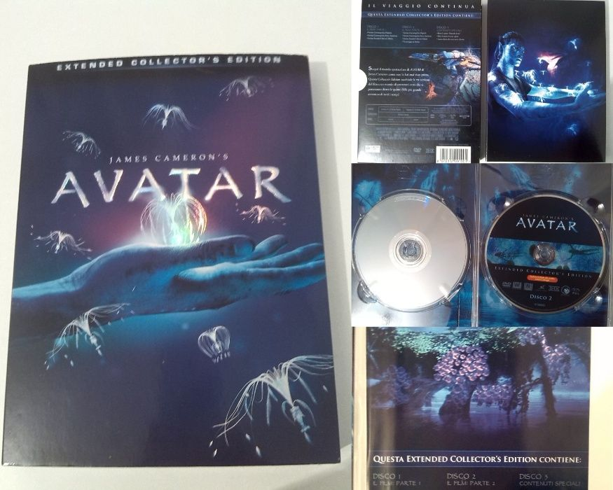 Avatar DVDx3 editie de colectie Italia (Extended Collector's Edition)