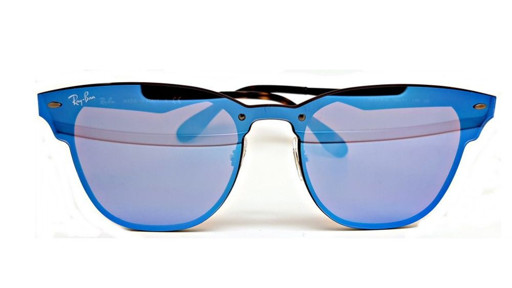 e4ac7cd916 Ochelari de soare Ray Ban albastru oglinda RB3539 002 6G