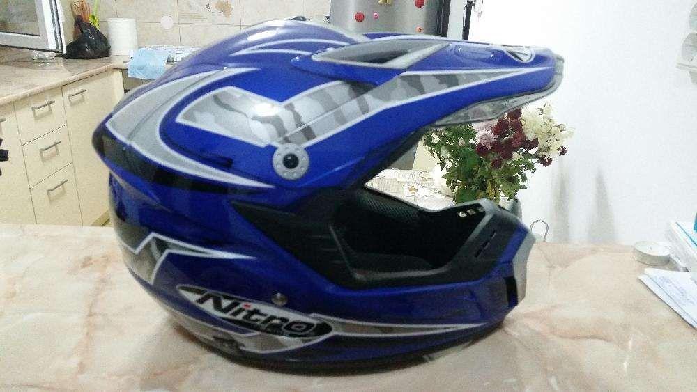 Casca profesionala Enduro/Downhill/ATV/Motocross, model Nitro MX 422.
