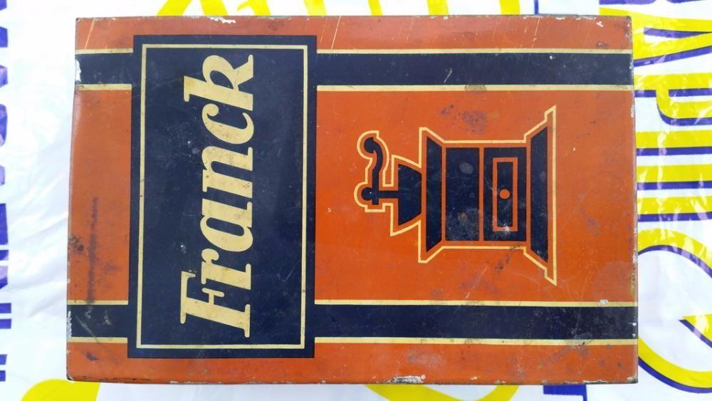 Cutie cafea Franck ( foarte veche)
