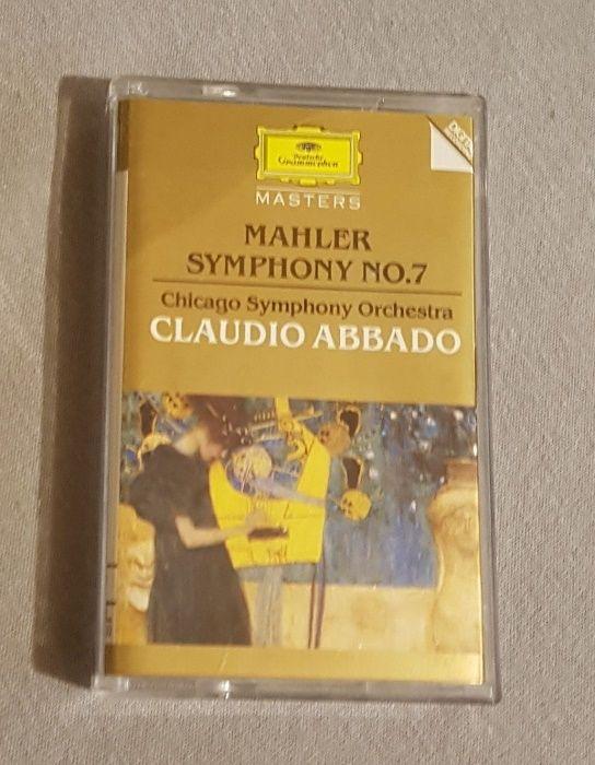 Caseta audio CrO2 HiFi Mahler Simphony 7 Claudio Abbado Chicago 1984