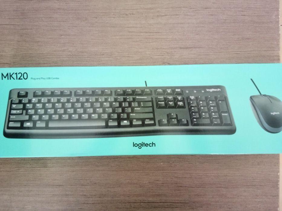 LOGITECH MK 120 Mouse e teclado COMBO WIRED