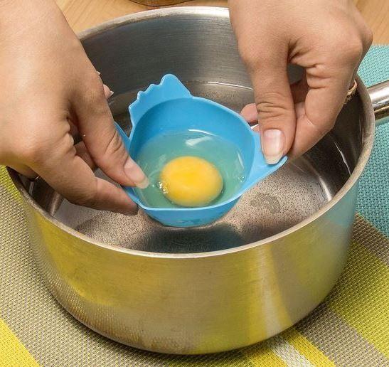 Силиконовая форма для варки яиц пашот