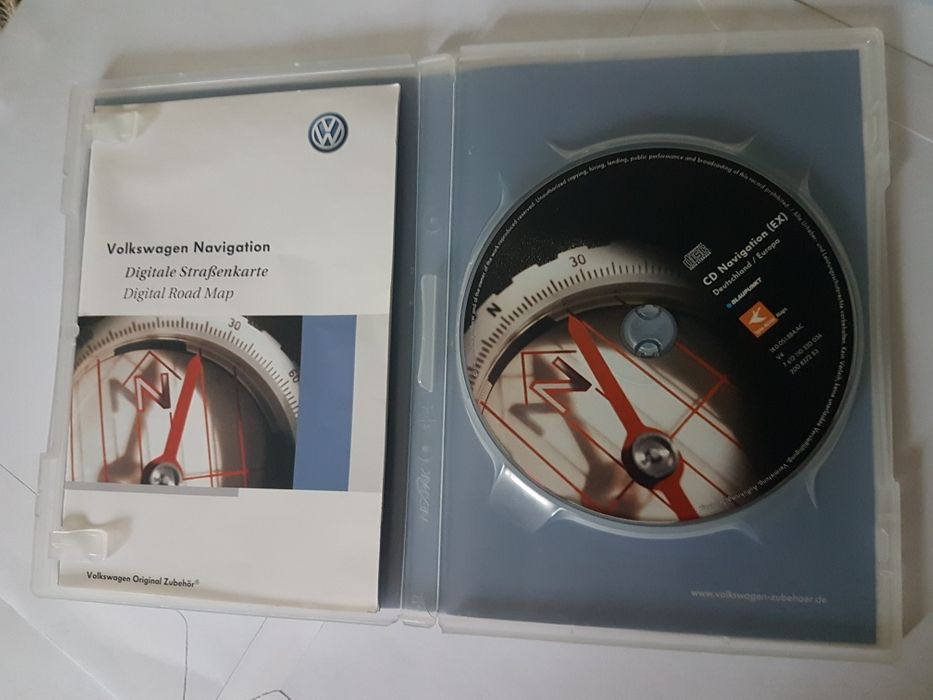 Cd Navigatie vw Germany/Europa