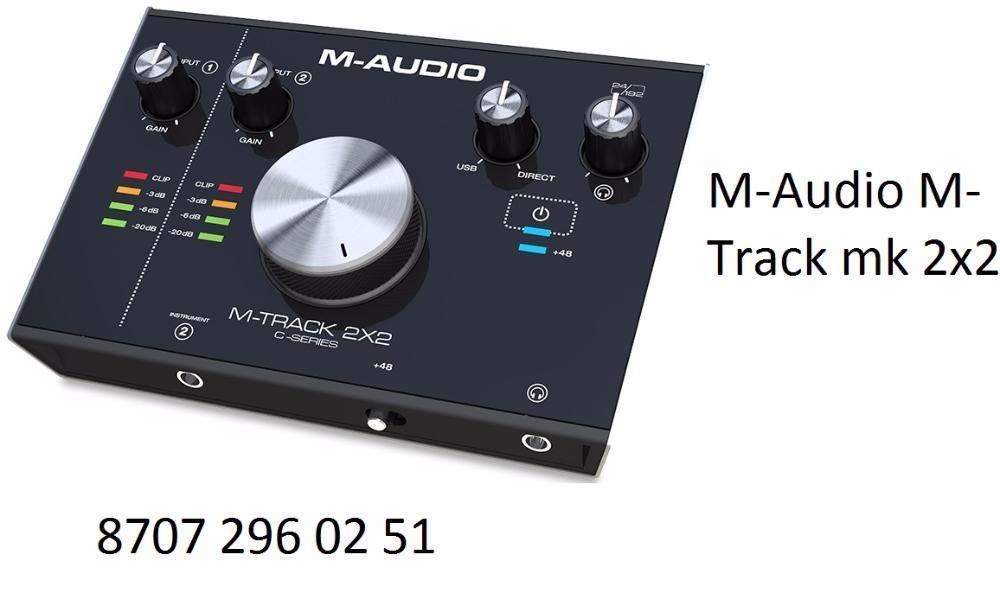 ! Звуковая карта M-Audio M-Track 2x2 (34)