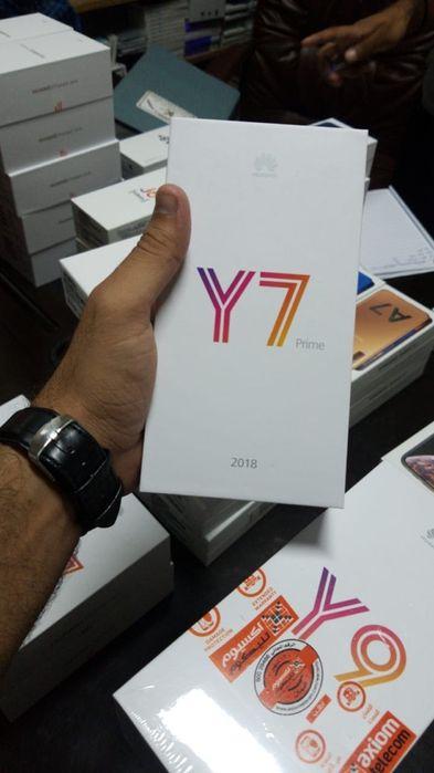 Y7 prime 2018 com todos acessórios