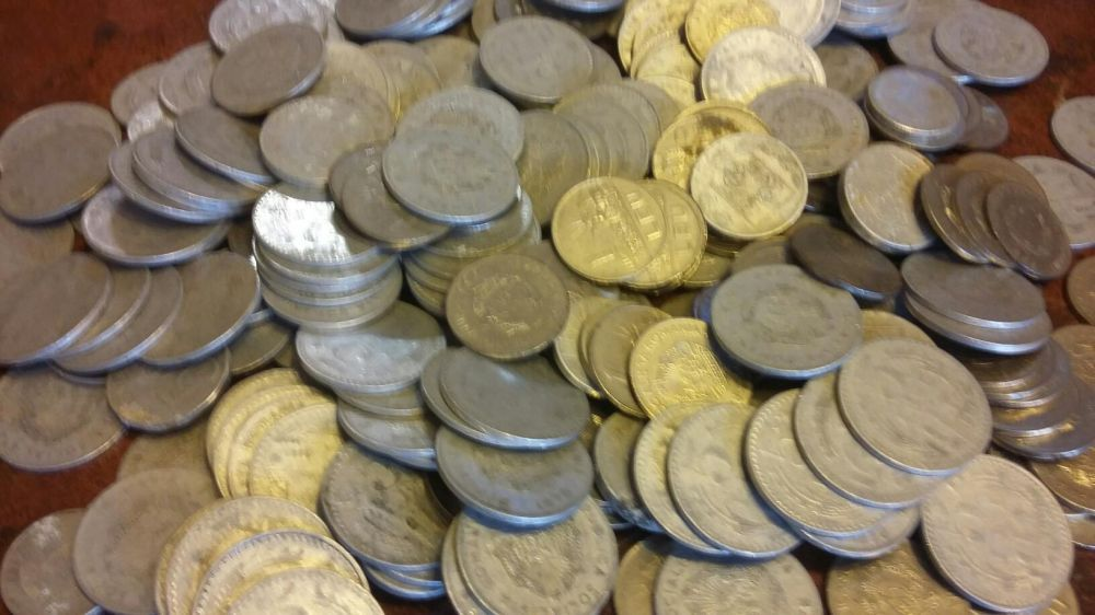 Moneda 3,5,1 leu Epoca De Aur
