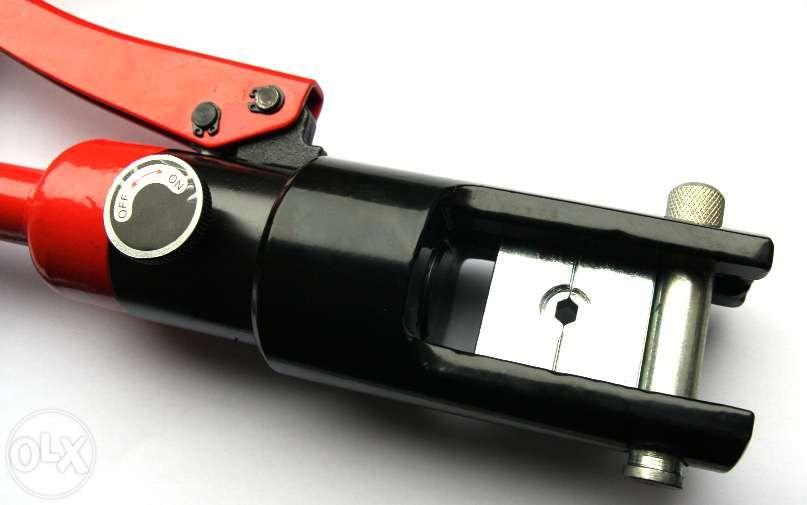 Presa papucit hidraulica profi-300mm .presa papuci electrici-13Tone Sibiu - imagine 2