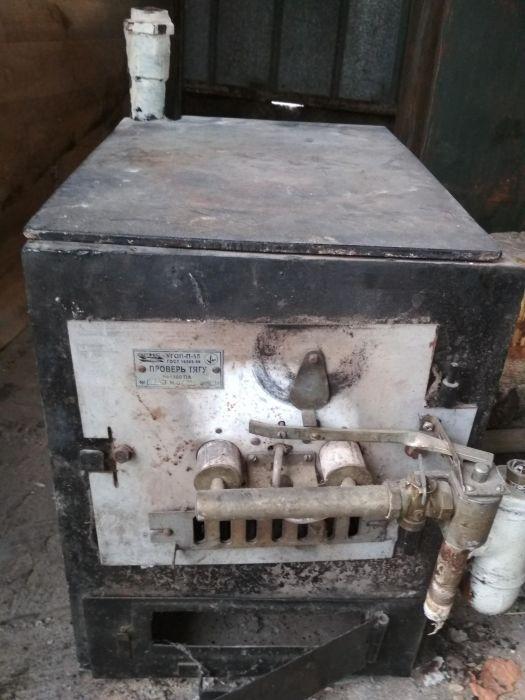Продам газовый котёл+газ.горелка