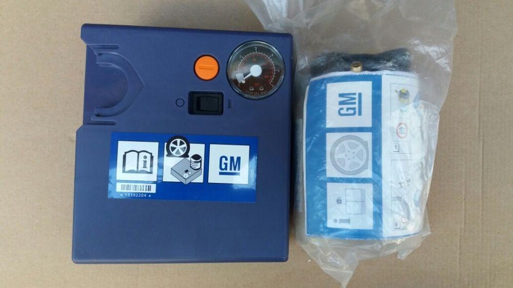 Kit pana Compresor auto umflat roti+solutie pana originale GM OPEL Noi