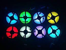 Свето-диодная LED лента RGB меняет цвета 12 вольт и есть др. варианты