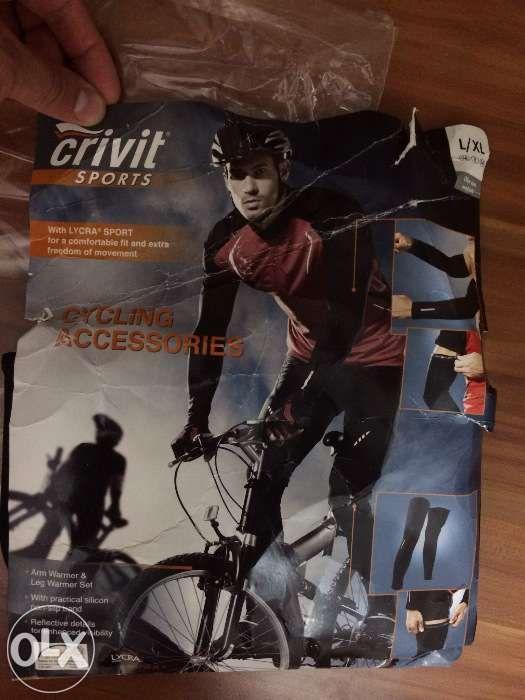 Set incalzitoare ciclism maini + picioare marimi S/ M si L/XL