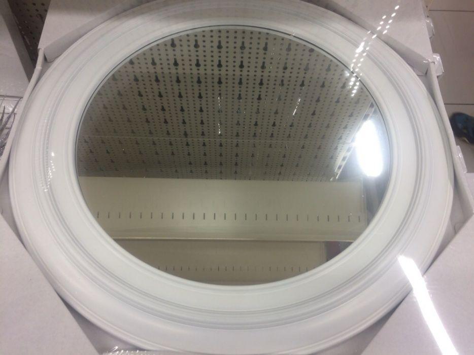 Oglinda mireasa rotunda cu rama alba 140 lei