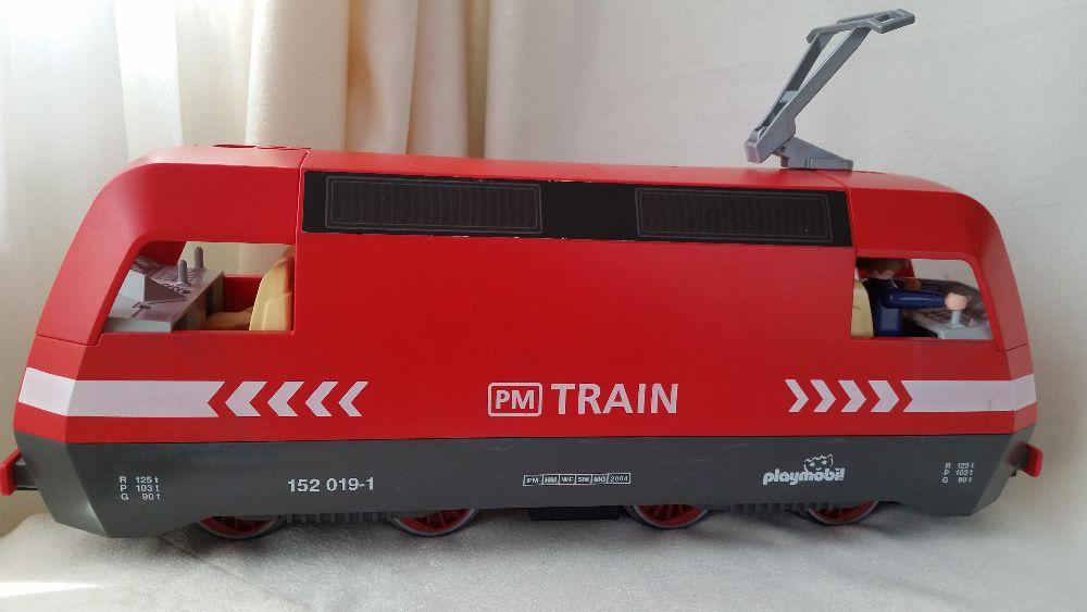 Товарен влак Playmobil с радиоконтрол