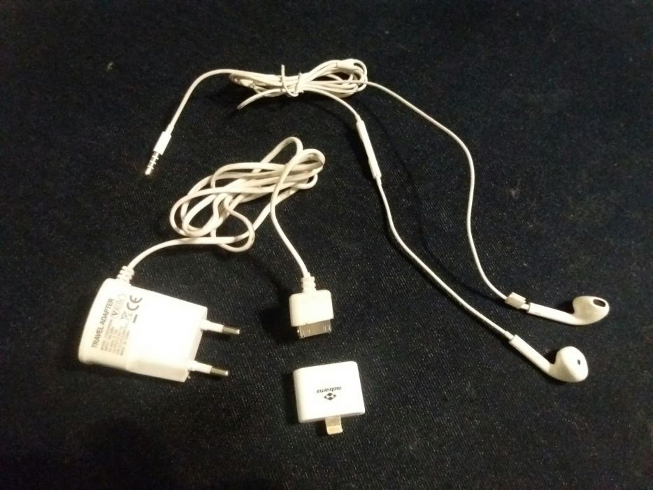 Incarcator de casa pt iphone 4 si 5 casti si adaptor