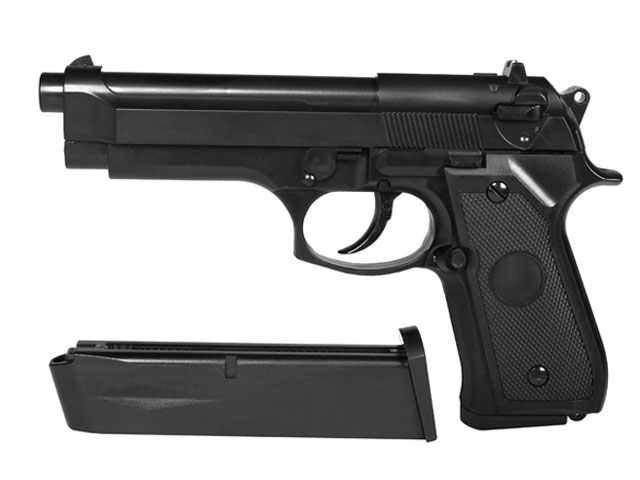 Beretta Pistol airsoft 6mm Green gas nou cadou 1000 bile