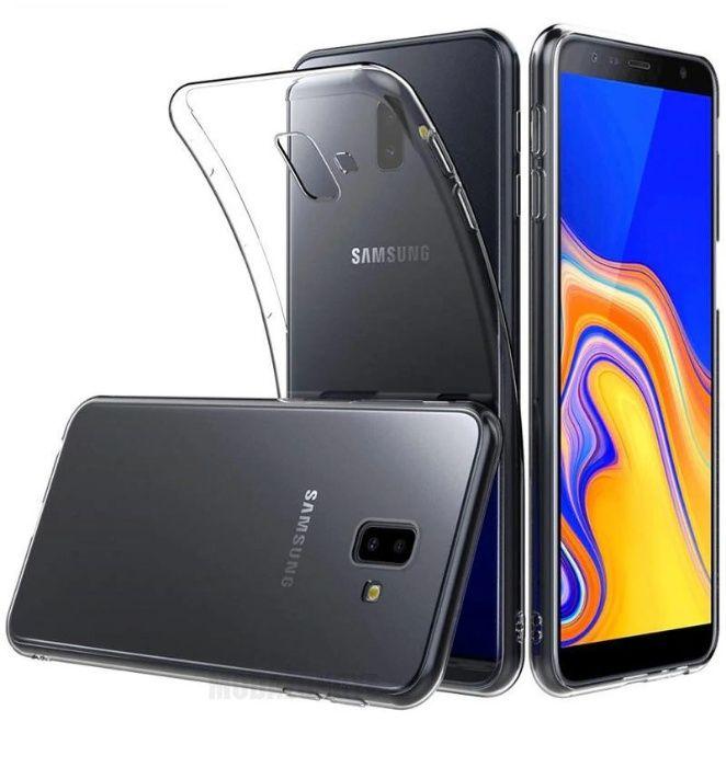 Husa Ultra slim Samsung j6, J6 Plus Silicon Transparenta