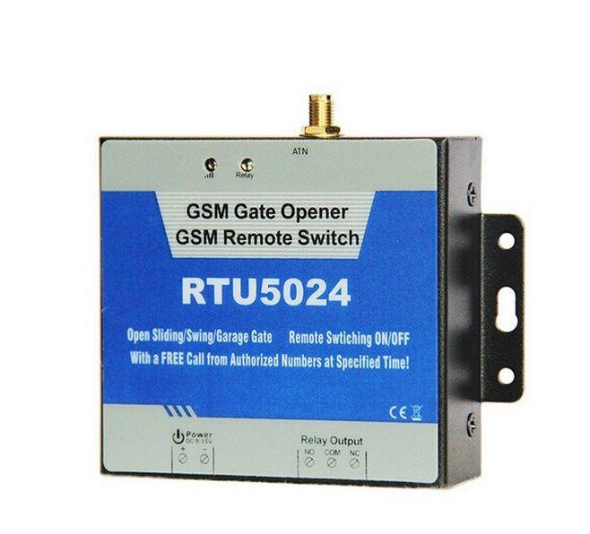 Releu GSM pentru comanda deschidere usa garaj de la distanta prin SMS