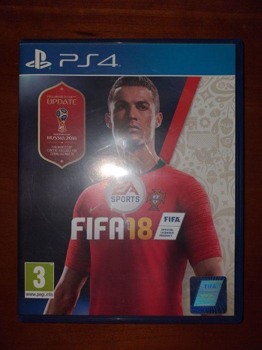 Fifa 18 PlayStation 4 Ingombota - imagem 1