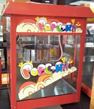 Maquina de pipoca a venda