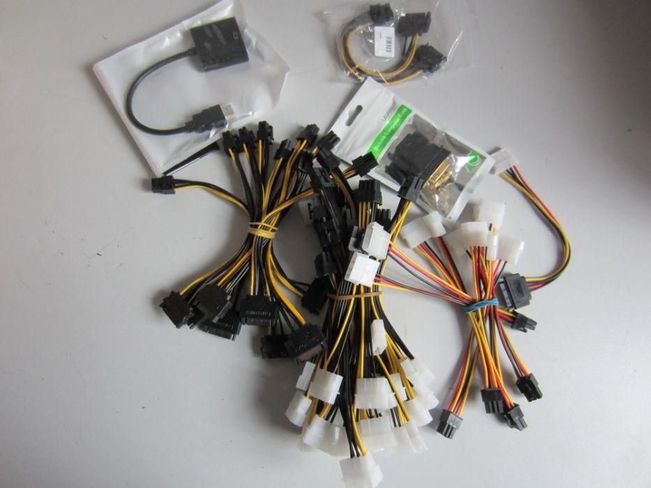 Преходници PCI-E, SATA, DVI, DMS-59, Cross Fire