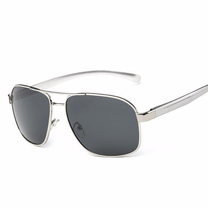 Ochelari Soare Unisex Polarizati Aviator Style Cu Protectie UV 400 - 2
