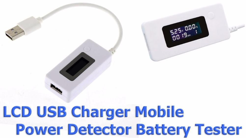 USB Tester Baterie Capacitate Acumulator Voltaj Incarcator Alimentator
