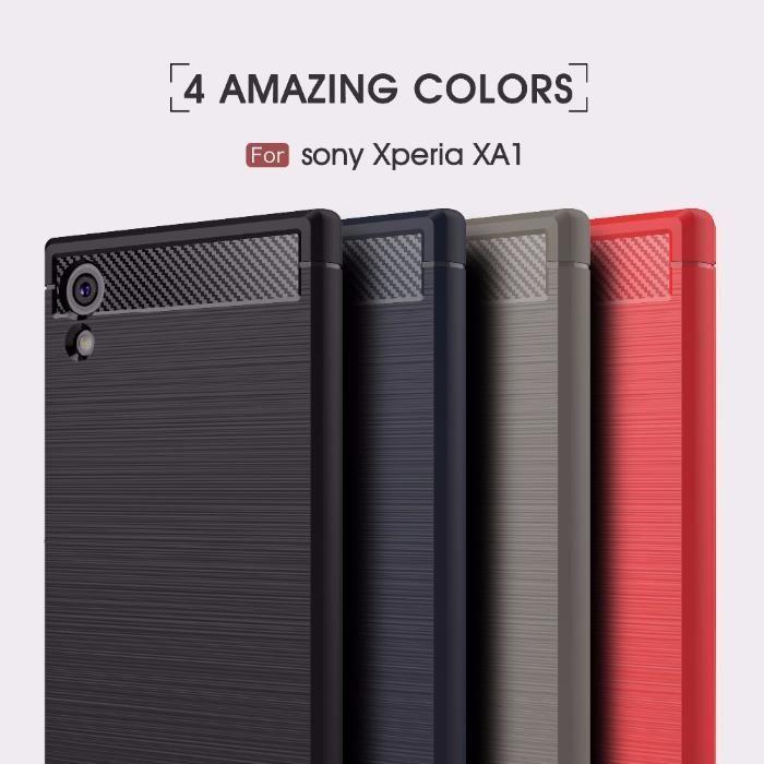 RUGGED ARMOR силиконов калъф кейс мат за Sony XPERIA XA1, XA1 ULTRA