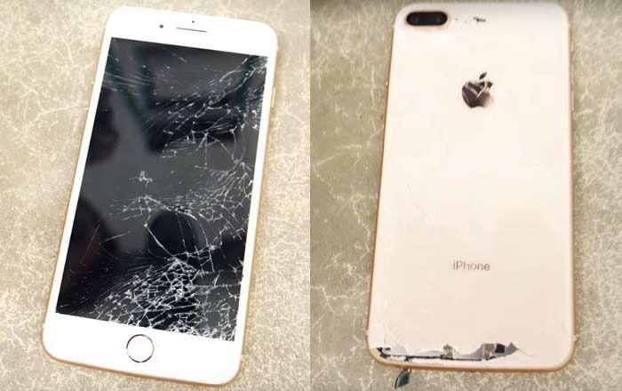 Schimb, inlocuire sticla (geam) iPhone 8, 8 plus, 7, 7 plus 6
