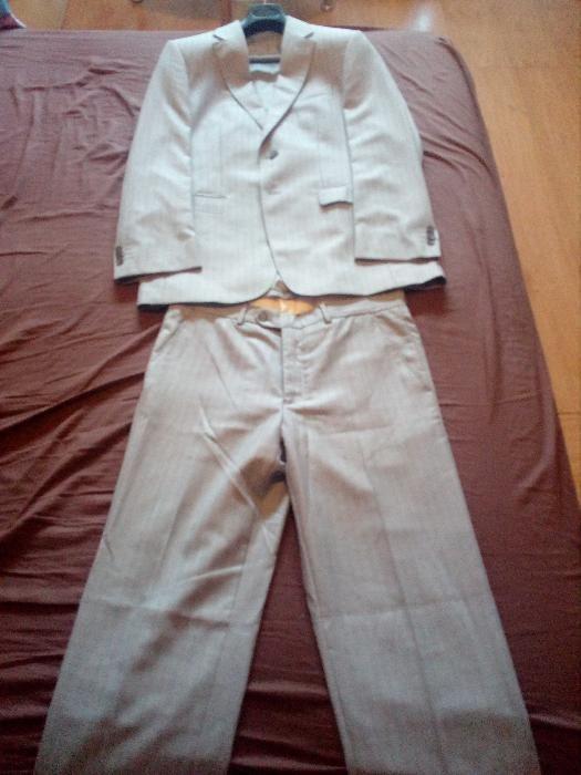 Сив костюм Frant
