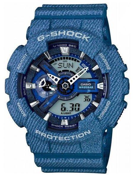 Ceas Casio G SHOCK GA110 DC ,Denim-blue light (ORIGINAL) ,NOU