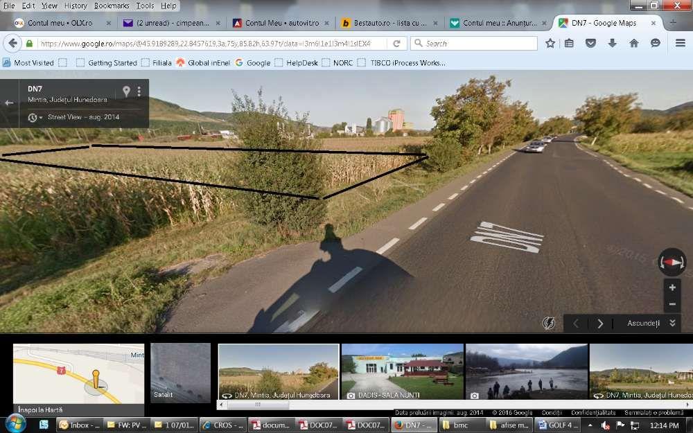 Vanzare  terenuri constructii  7100 mp Hunedoara, Mintia  - 0 EURO