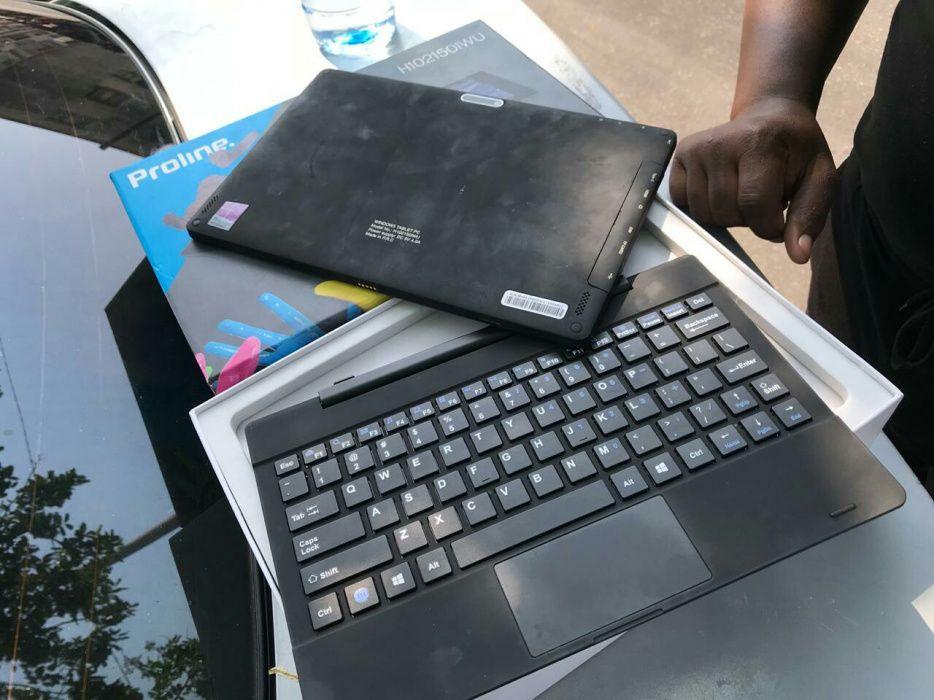 Pc tablet proline ha bom preço com caixa nuca usado