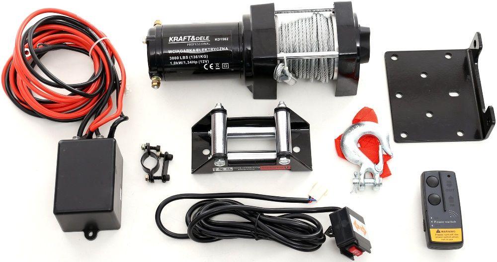 Winch - Troliu electric KD1562 3000LBS 12V Radauti - imagine 1