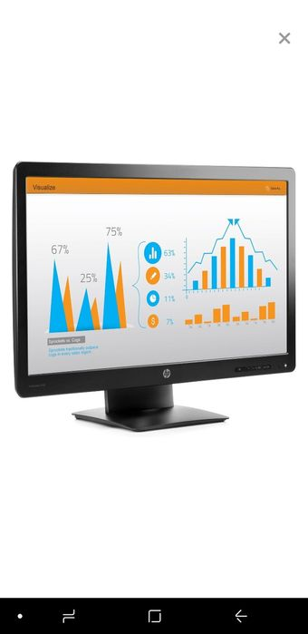 Monitor LED HP Pro Display 23 inch (58,4 cm) Full HD