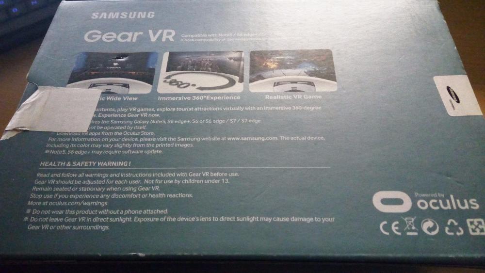Vand ochelari Samsung Gear VR SM R 322 frost white