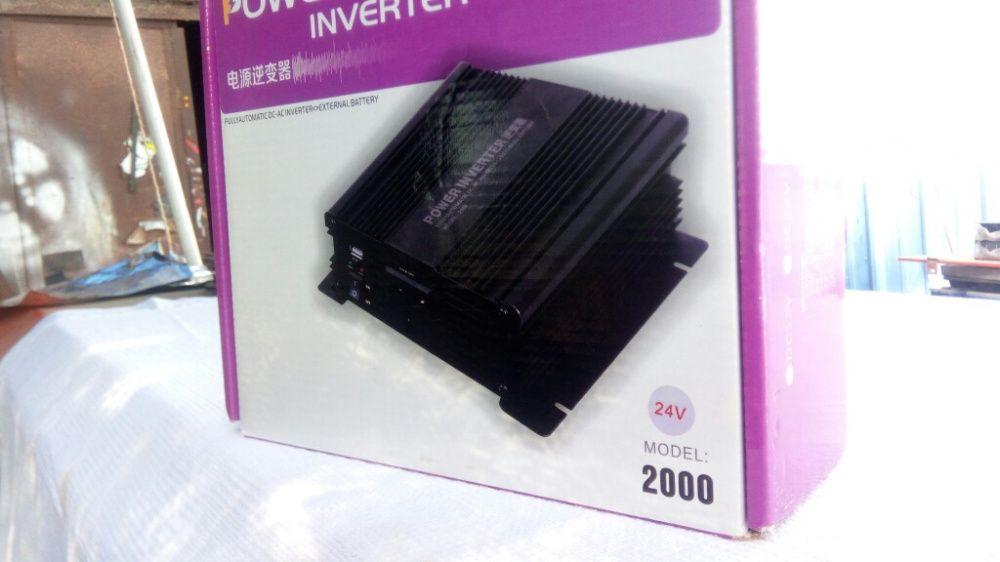 Inversor 24V/2000W