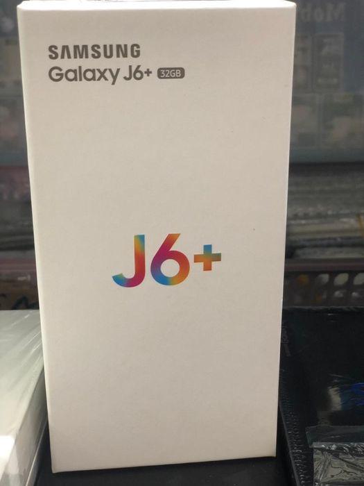 J6 Plus 32g na caixa com todos acessórios