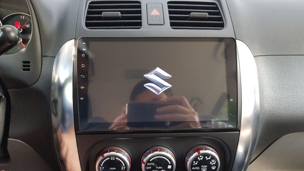 Navigatie CARPAD Navi Suzuki SX4 2006-2013 GPS Android Bluetooth Waze