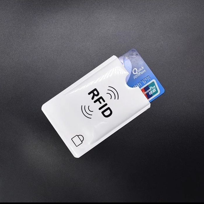 Folie protecție card contactless RFID