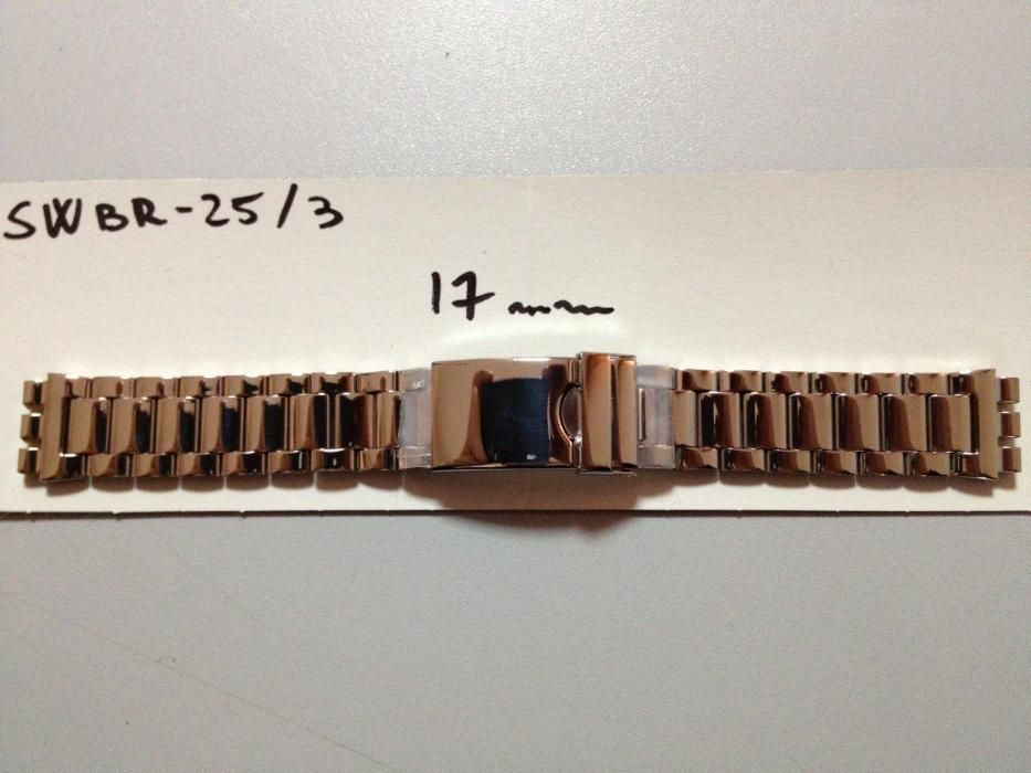 bratara swatch metalica inox de 17mm latime si 19mm latime.
